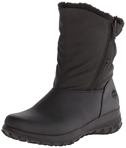 b1a09c5a4ef totes Womens Rikki Closed Toe Mid-Calf Cold Weather Boots