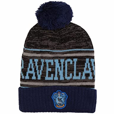901a78fbe0a Image Unavailable. Image not available for. Color  Harry Potter Ravenclaw  Pom Beanie