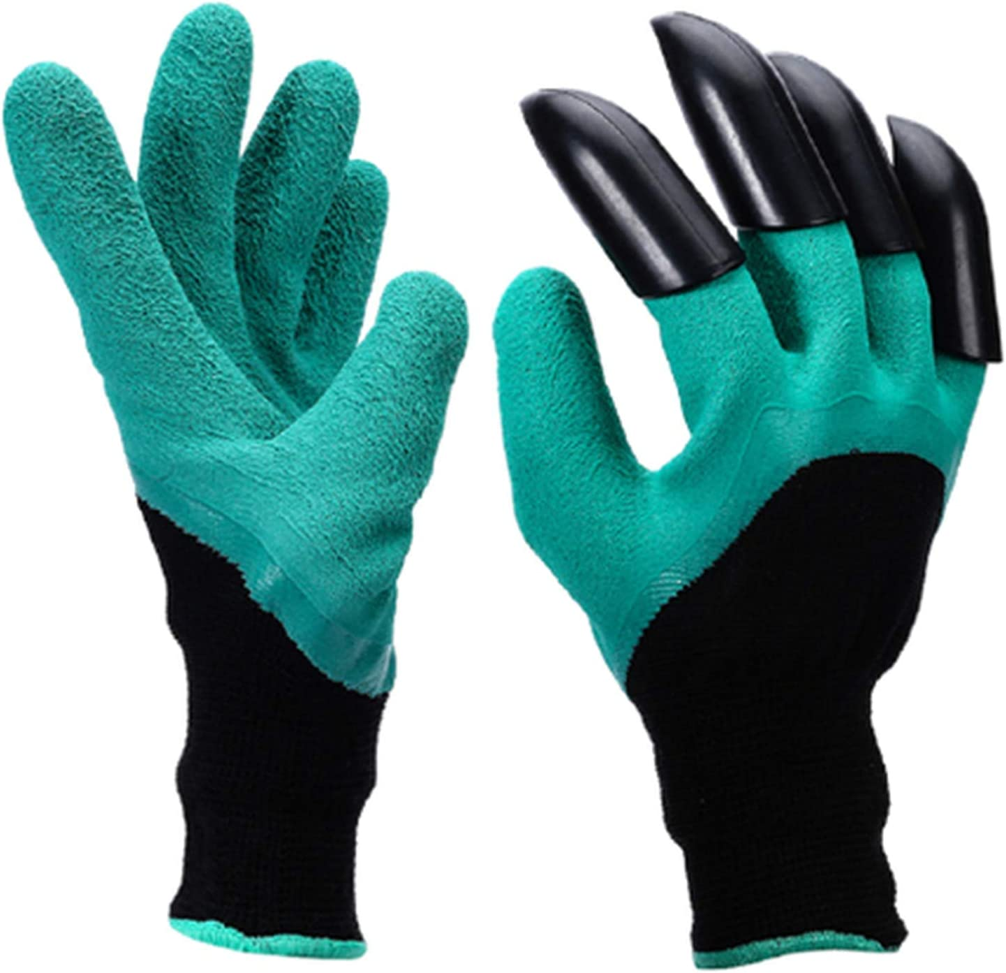 Gardening Gloves Thorn Resistant Safe Garden Genie Gloves with Claws for Digging Planting Best Gift for Gardeners