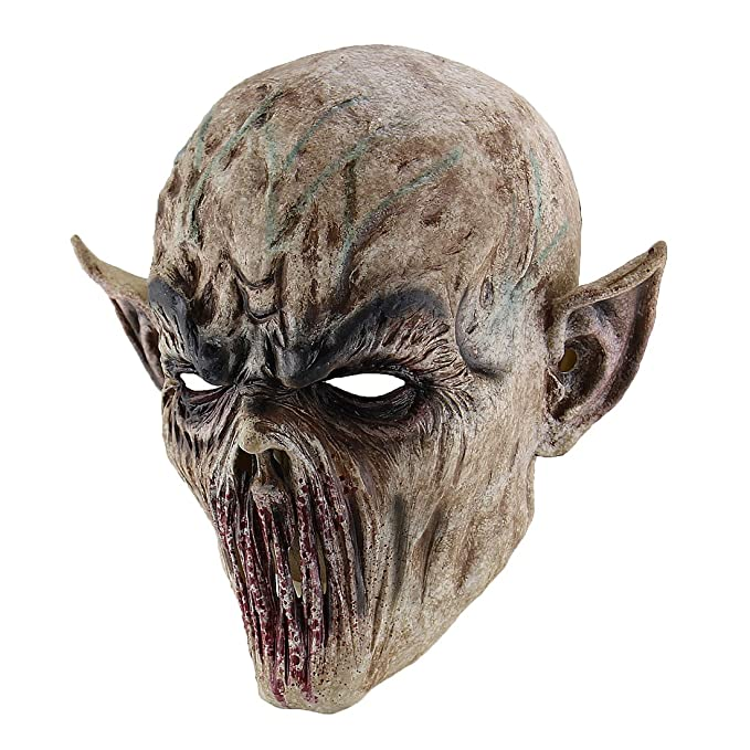 Hophen Creepy Scary Halloween Cosplay Costume Mask for Adults Party  Decoration Props