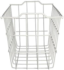 2 x Grayline 40604, Deep Storage Basket, White