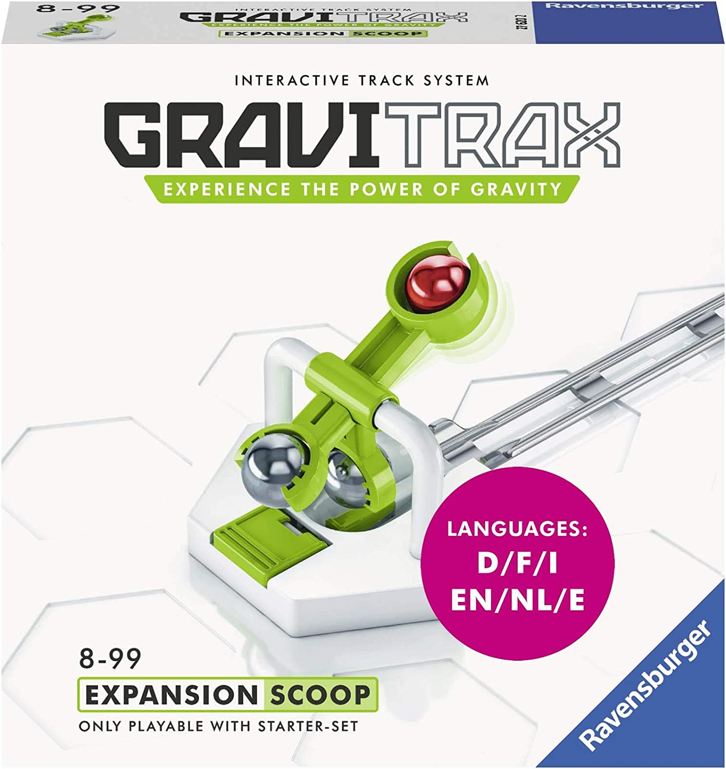 Ravensburger Gravitrax Lifter Expansion Set Marble Run /& STEM Toy for Boys /&
