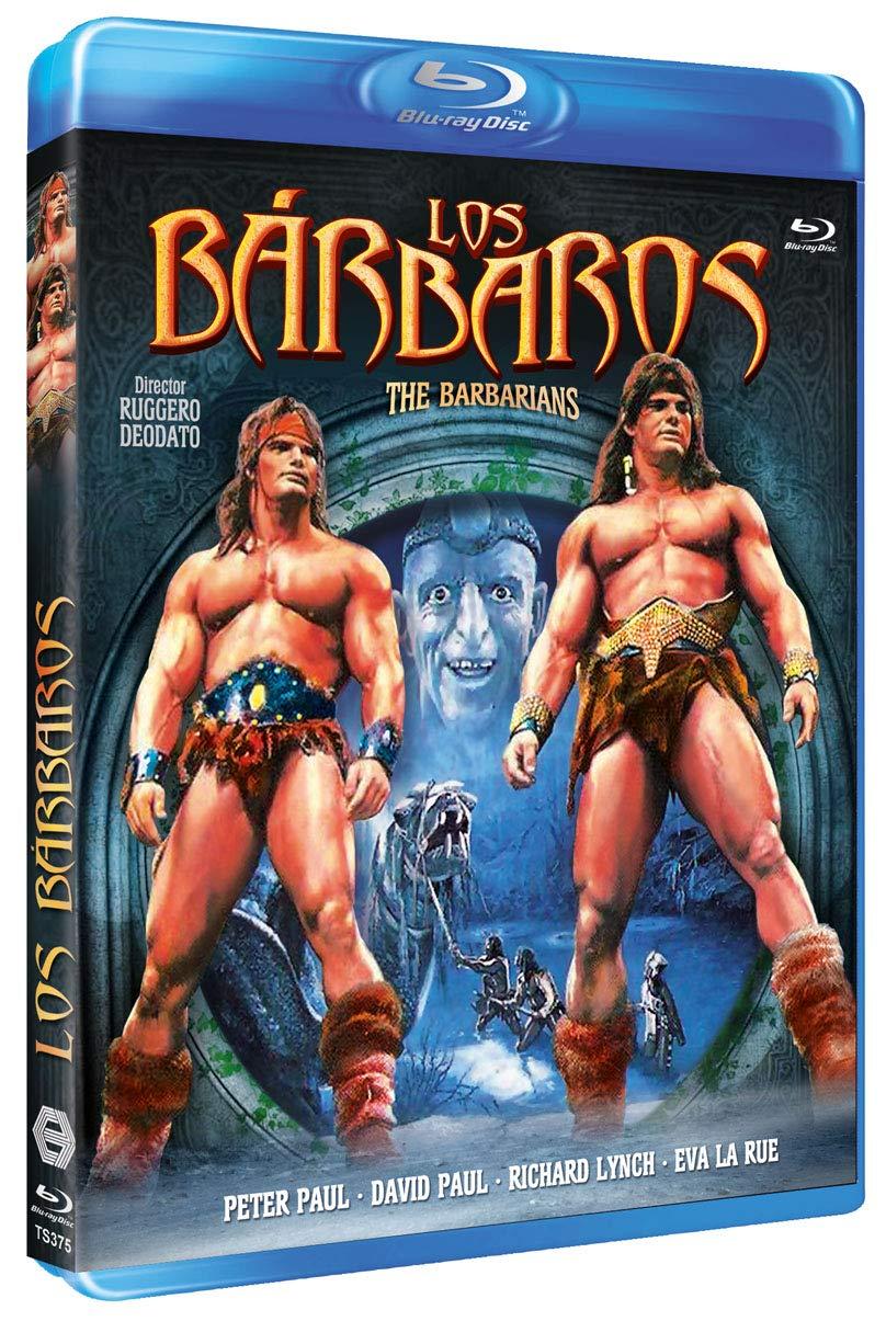 Los Bárbaros BD 1987 The Barbarians [Blu-ray]
