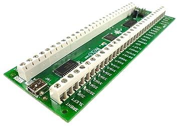 Encodeur Ultimarc I-PaC 4 avec clavier USB Câble-Nouvelle Version