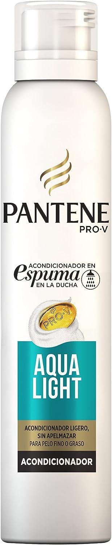 Pantene Pro-V Aqualight Acondicionador en Espuma para el Cabello Fino con Tendencia a Engrasarse, 180ml