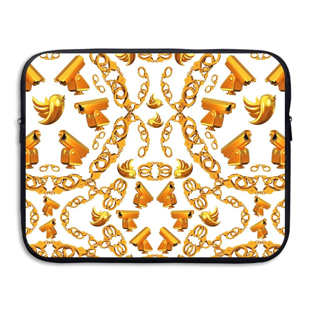 Ministoeb Golden Age Crop Love Laptop Storage Bag - Portable Waterproof Laptop Case Briefcase Sleeve Bags Cover