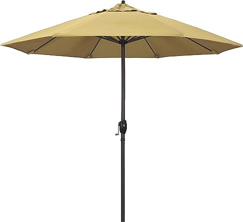California Umbrella ATA908117-5414 9' Round Aluminum Market
