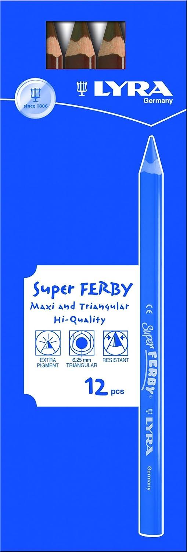 LYRA Super Ferby Kartonetui mit 12 Farbstiften, Farbstiften, Farbstiften, kupfer B0041VZJTQ | ein guter Ruf in der Welt  202a34