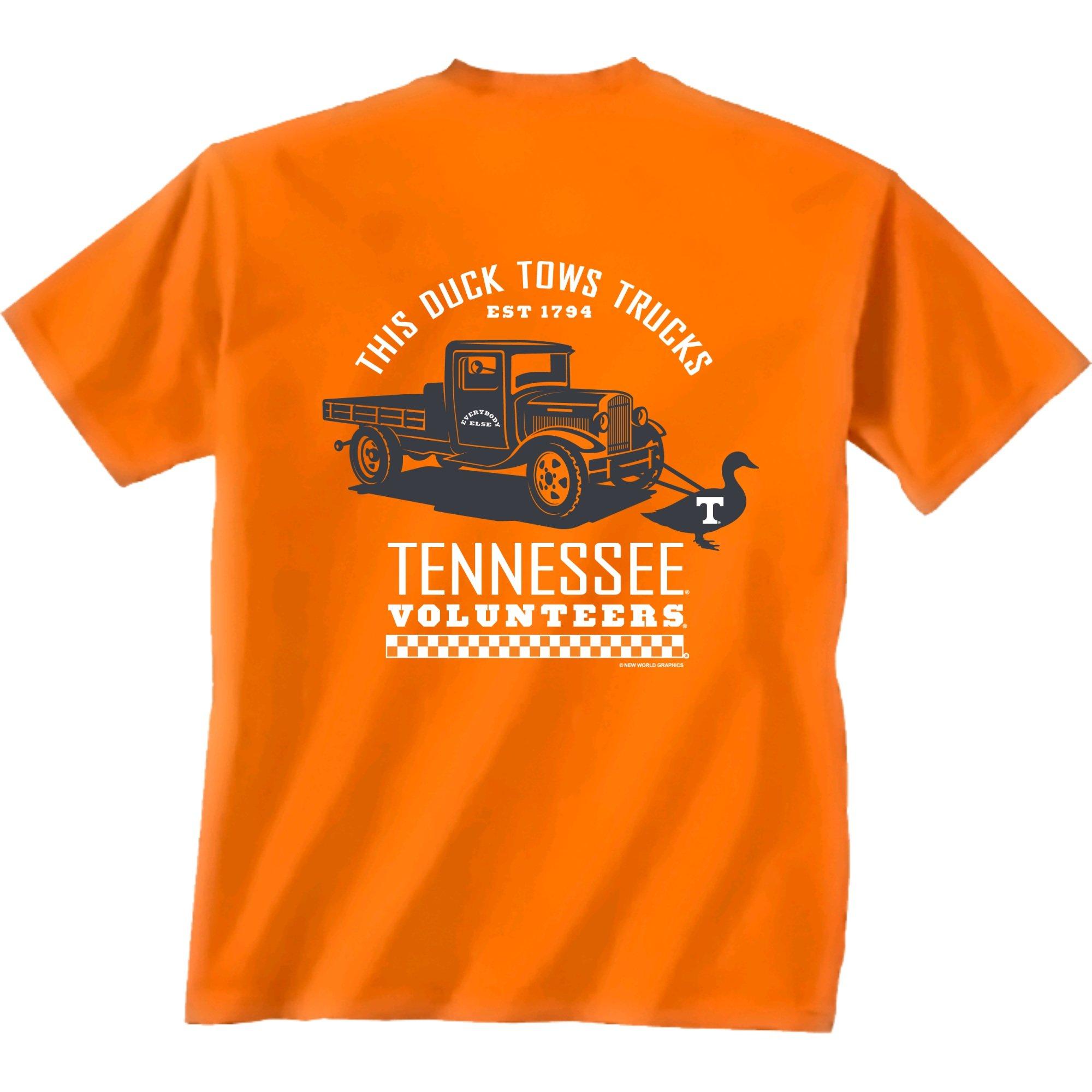 New World Graphics Ncca Duck Truck Short Sleeve Shirt