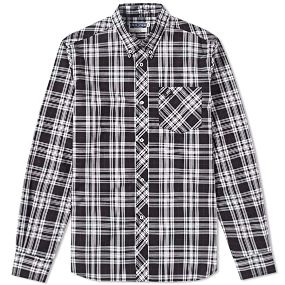 Fred Perry Reissues Tartan Shirt M7130 184-42: Amazon.es: Ropa y ...