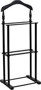 """Proman Products VL17025 Twin Valet, 42.5"""" Height, Black"""""""