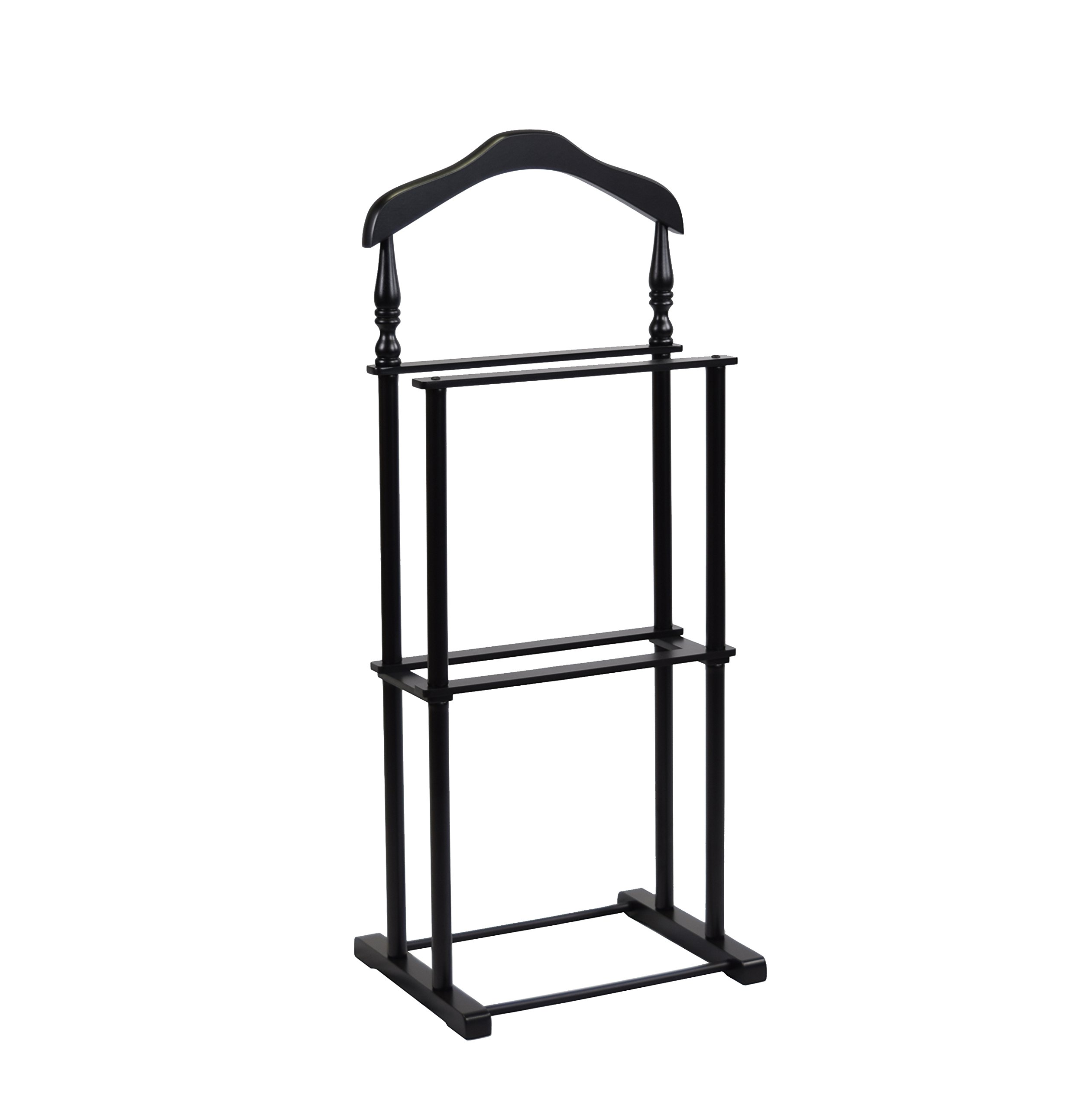 Proman Products VL17025 Twin Valet, 42.5'' Height, Black