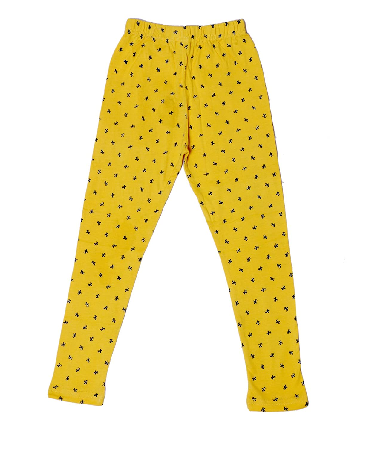 Pack of 2 Indistar Girls Super Soft and Stylish Cotton Printed Legging Pants