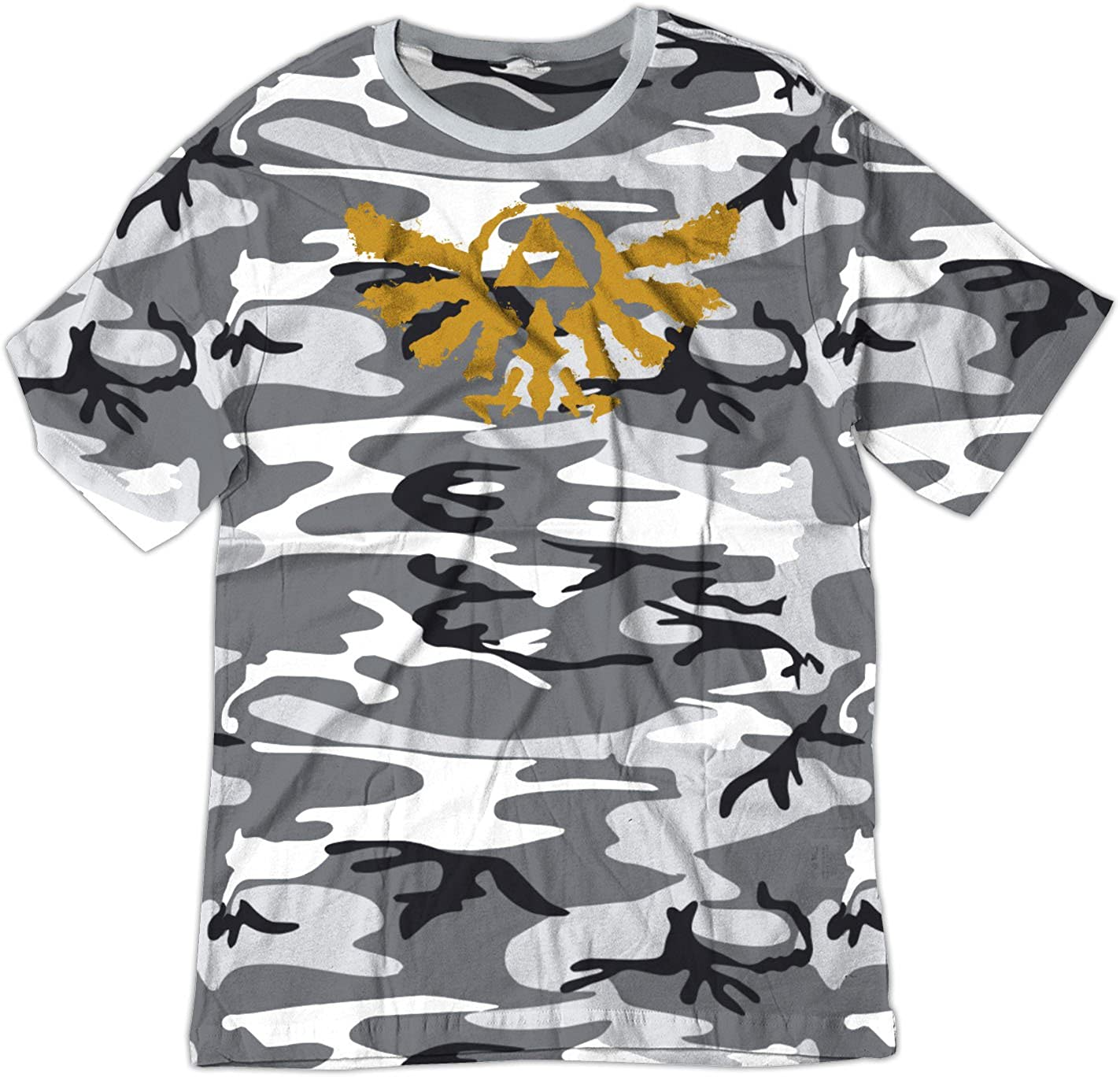 BSW YOUTH Rorschach Zelda Triforce The Golden Power Shirt 1246-1Y