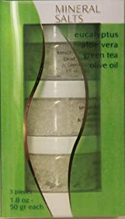 product image for Mineral Salts Eucalyptus Aloe Vera Green Tea Olive Oil 3 Pieces