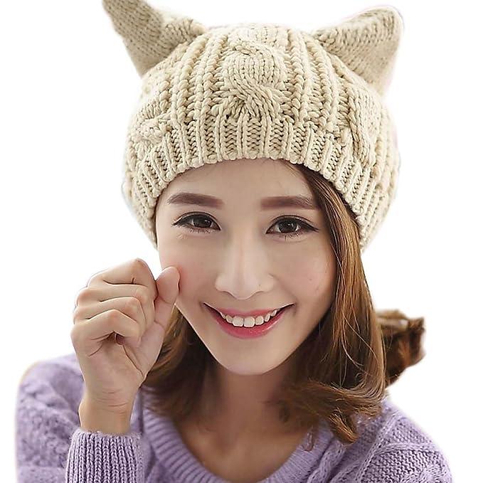 Cappello Donna Invernale Elegante Caldo Carina Lavorato Cappelli In