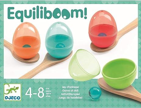 DJECO- Juegos de acción y reflejosJuegos de habilidadDJECOJuego Habilidad Equiliboom, Multicolor (15): Amazon.es: Juguetes y juegos