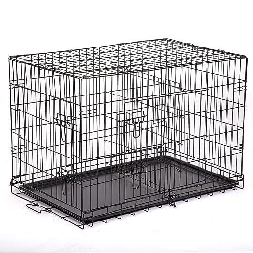 Pananna Home Jaula de Metal con Separador para Mascotas, Gato ...