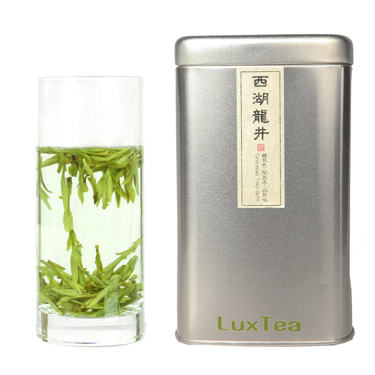 Luxtea Chinese Top10 Famous Tea - Xihu Long Jing/West Lake Dragon Well/Longjing - Grade AAA (Super Grade) by Luxtea