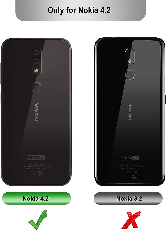 iBetter para Nokia 4.2 Funda Suave y Duradera, Funda de TPU. Funda ...