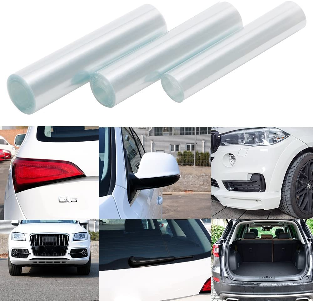 1m iTimo Full Body Sticker Door Bowl Rearview Mirror Protector Vinyl Rhino Skin Stickers Car Sticker and Decal Transparent Anti-kick Film