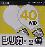 シリカ電球LW100V38W55/2P LW100V38W55/2P