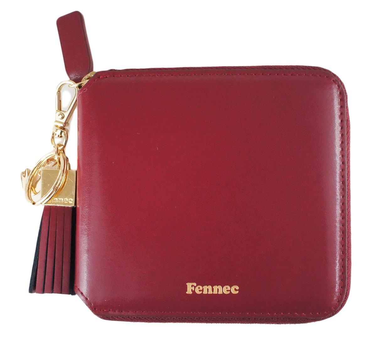 Fennec Zipper Wallet Square Tassel フェネック 二つ折り財布 コインケース付き 【Fennec OFFICIAL】 B0765RVMY8 マルサラ マルサラ