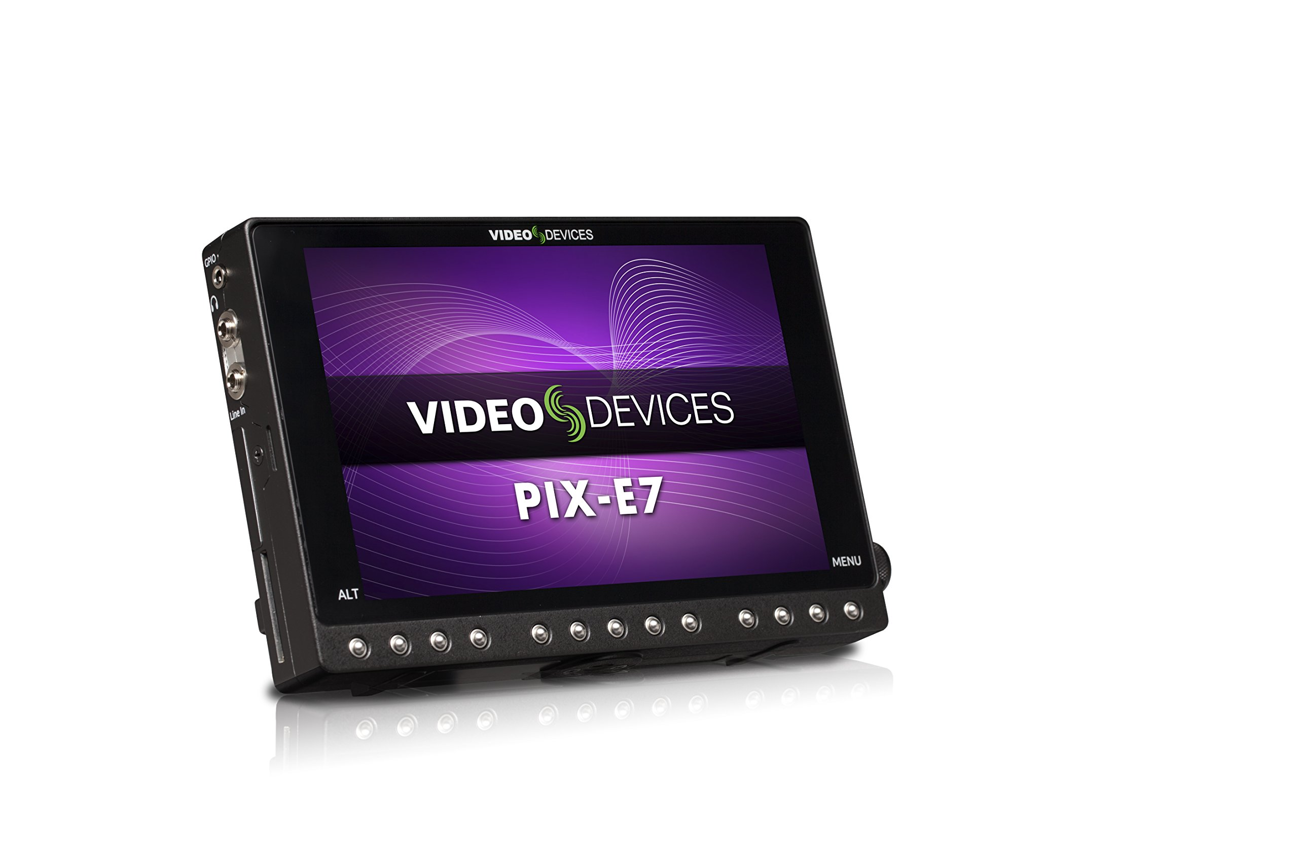 Video Devices PIX-E7 7-inch 4K Monitor and Video Recorder (ProRes and H.264) - HDMI and 6G-SDI by Video Devices
