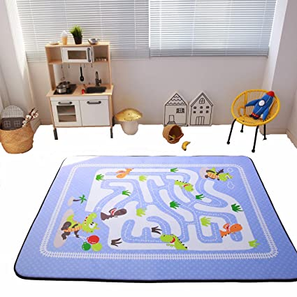Elegant HIGOGOGO Children Play Rugs, Non Skid Memory Foam Rug Nursery Rug For  Playroom Bedroom
