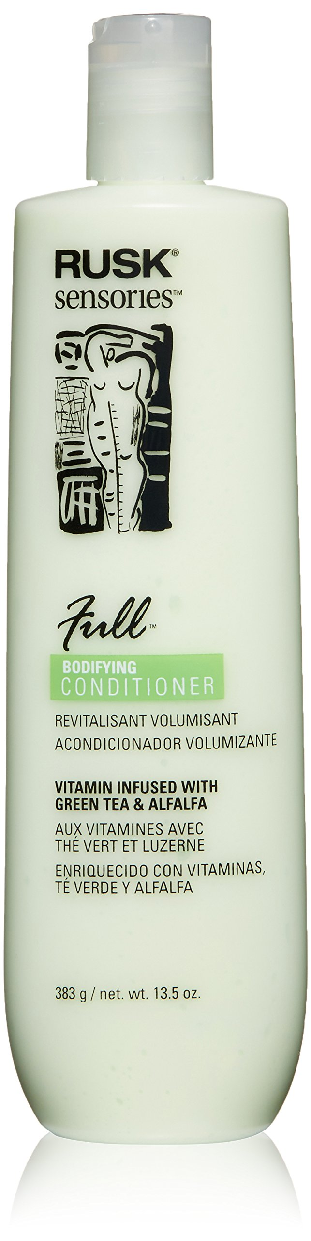 RUSK Sensories Full Green Tea and Alfalfa Bodifying Conditioner , 13.5 oz.