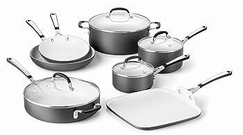 Calphalon 11-Piece Ceramic Nonstick Cookware Set