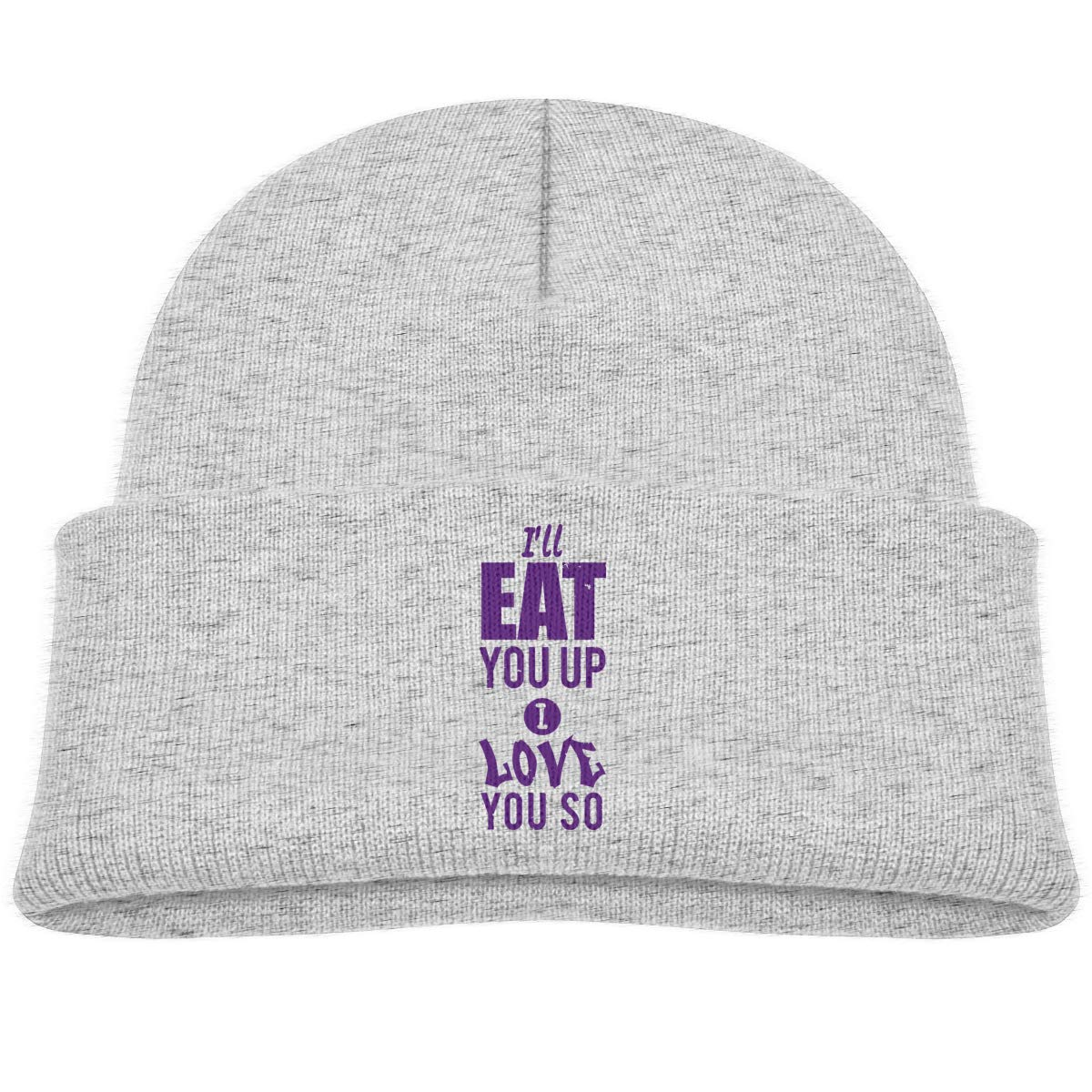 Ill Eat You Up I Love You So Infant Knit Hat Kids Beanies Caps