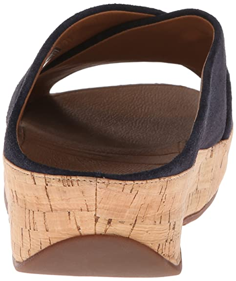 09169b2ea78716 FitFlop Sandals KYSTM Suede Supernavy Supernavy UK8  Amazon.co.uk  Shoes    Bags