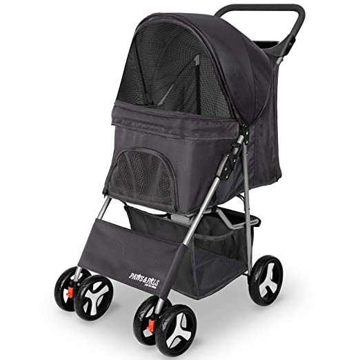 Paws & Pals 4 Wheeler Elite Jogger Pet Stroller - Most Comfortable