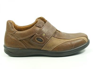 421401-373 Relexxa Schuhe Herren Halbschuhe Slipper Weite H, Schuhgröße:43;Farbe:Braun Jomos