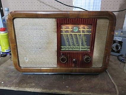 Radio Antigua Vintage RADIONE 451U 1950: Amazon.es: Electrónica