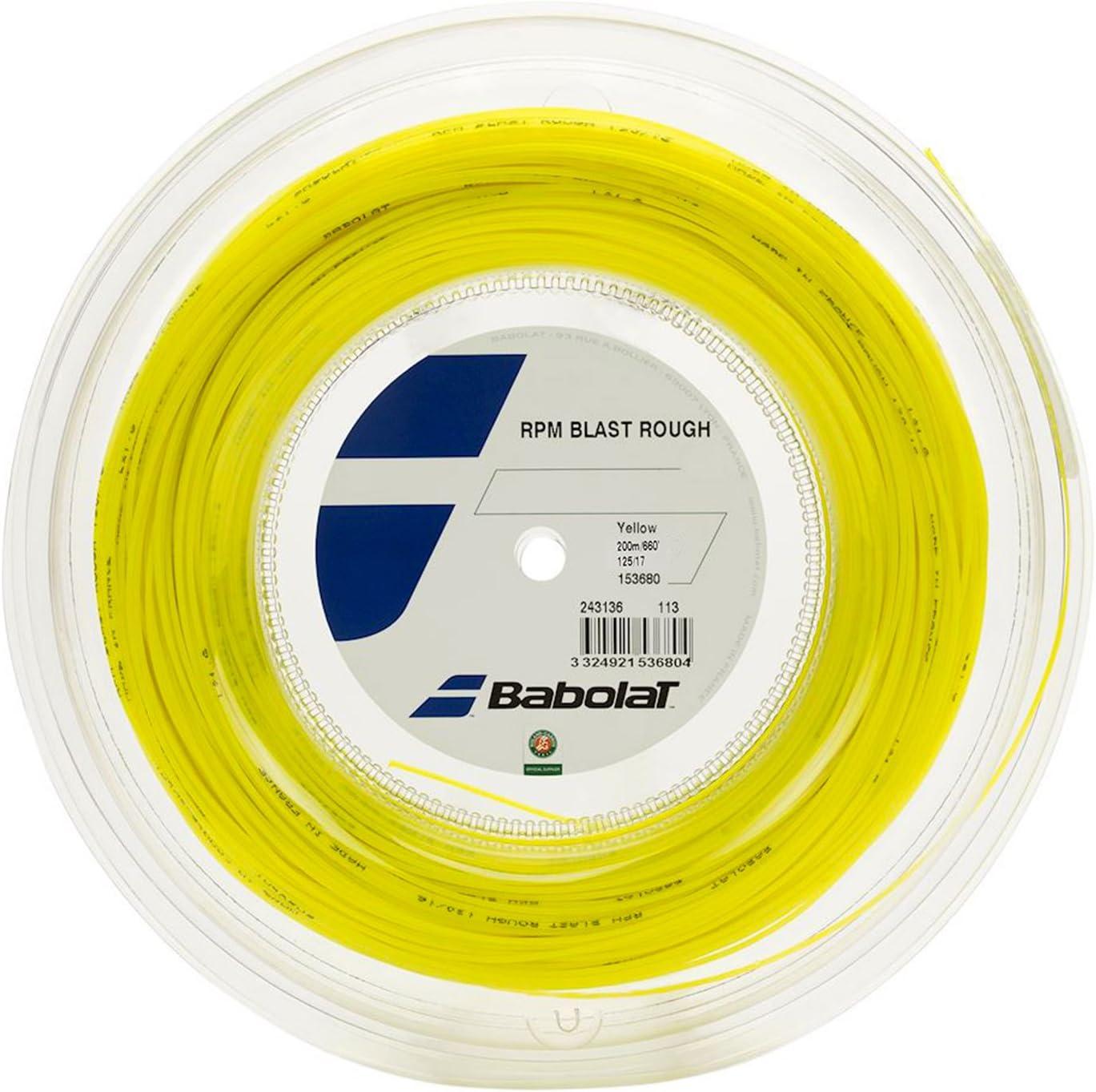 Unisex Adulto Babolat RPM Blast Rough 200m Cordaje de Tenis