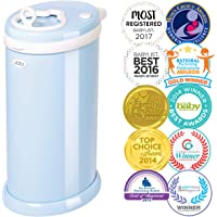 Ubbi Steel Diaper Pail, Light Blue