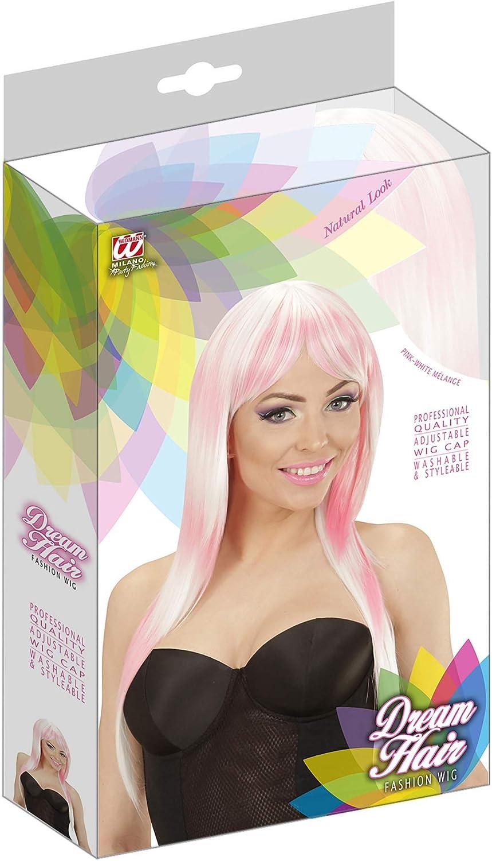 WIDMANN 04522/Party Parrucca Lunga con Due Colori