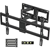 MOUNTUP TV Wall Mount, Full Motion TV Mount Swivel and Tilt for 42-70 Inch Flat Screen/Curved TVs, Articulating Wall Mount TV