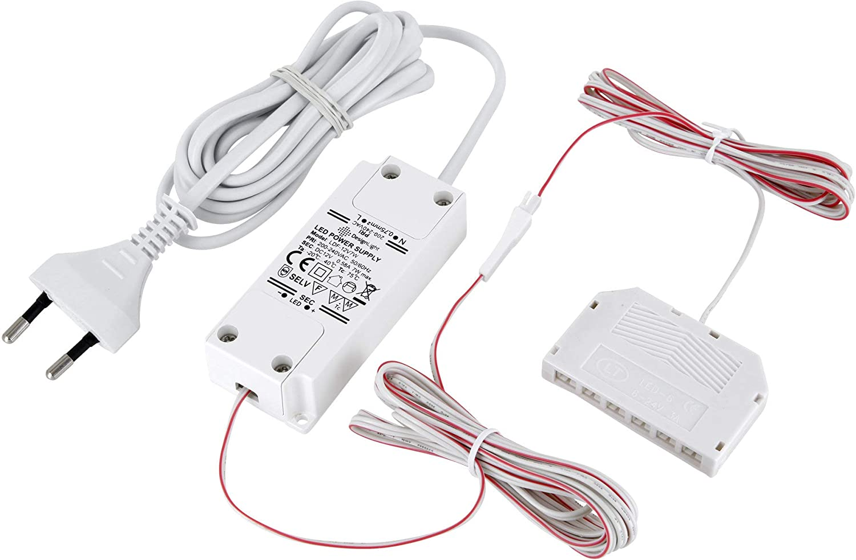Trafos Transformatoren Steckernetzteile f Aufbauleuchte Leuchte mit Ministecker