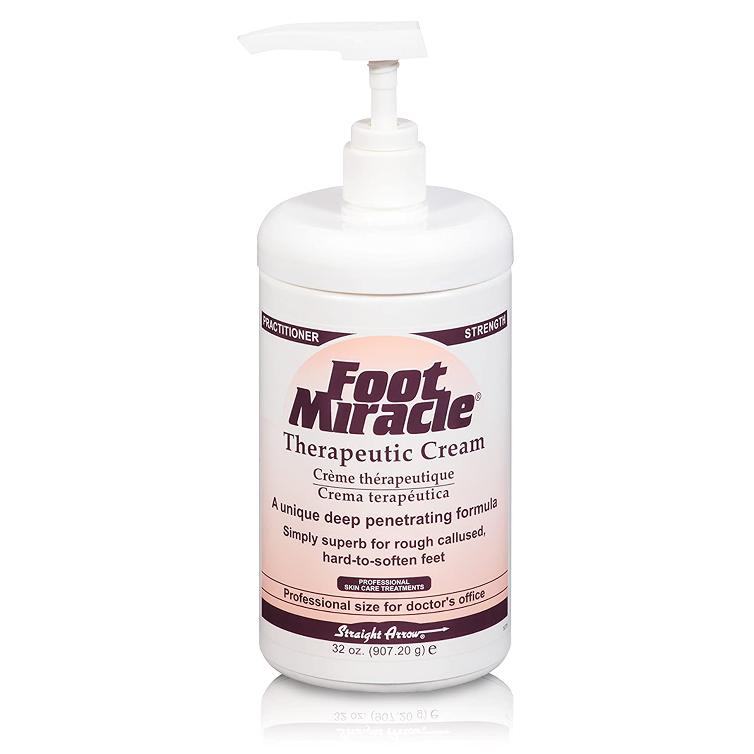 Foot Miracle Therapeutic Cream PRACTITIONER STRENGTH 32 Once Foot Miracle Cream