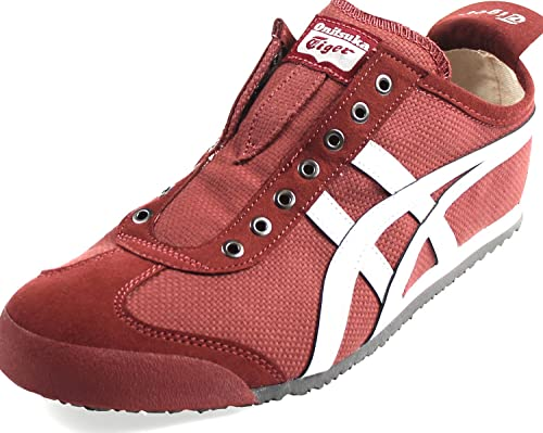 d8d2809bf99b0 Onitsuka Tiger by Asics Unisex Mexico 66 Slip-On Russet Brown Glacier Grey  Sneaker