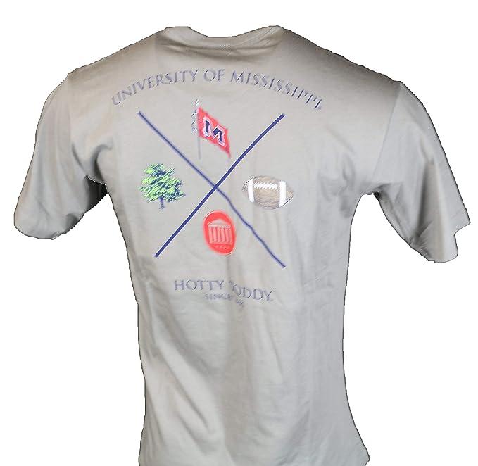 Ole Miss Fundamental Proper Cotton T Shirt Grey At Amazon Men S