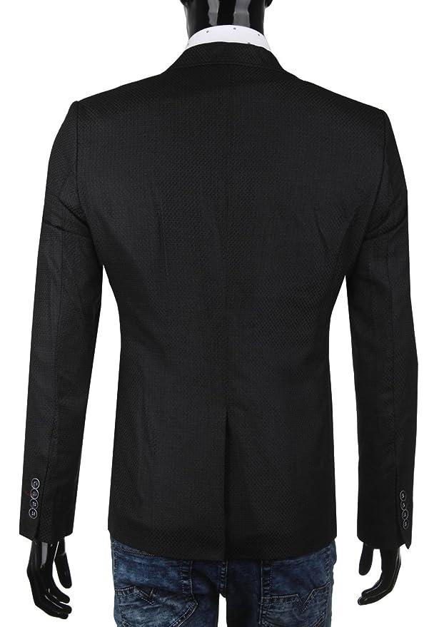 Cipo   Baxx Herren Sakko Blazer Jacket CJ115 schwarz (52, schwarz)   Amazon.de  Bekleidung 2cb178acd7