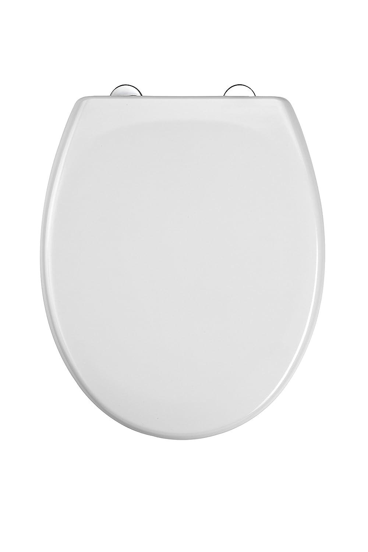 WC Sitz Duroplast, mit Absenkautomatik und Schnellverschluss, Weiß , ED69310 EISL