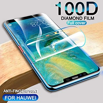 DSMYZ Protector de Pantalla Película de hidrogel 100D para Huawei ...