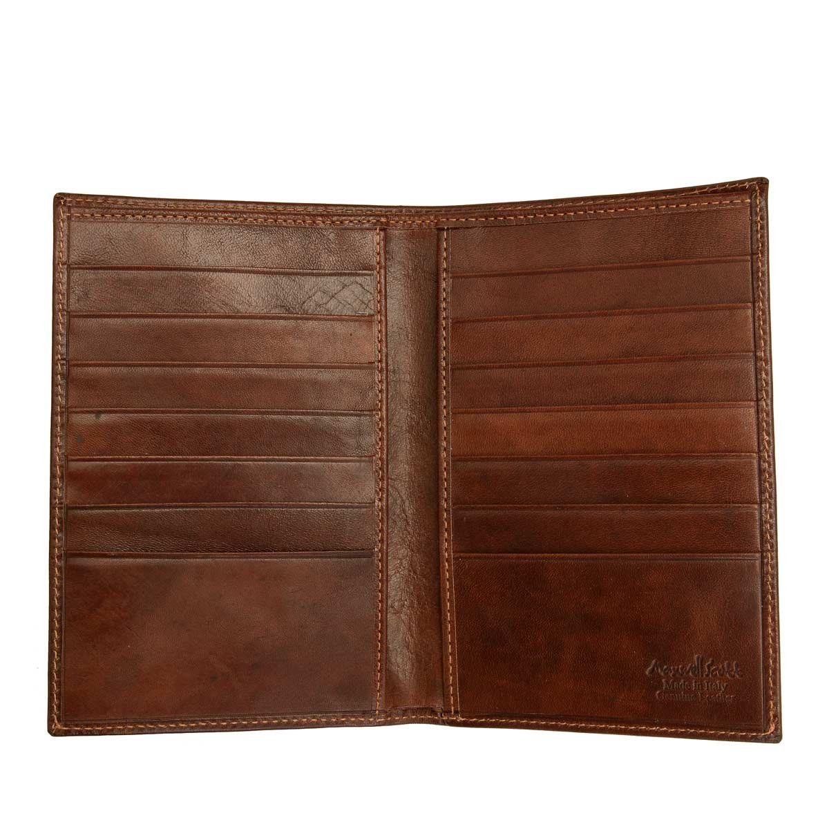 Maxwell Scott Luxury Tan Leather Jacket Wallet - One Size (The Pianillo) by Maxwell Scott Bags (Image #9)