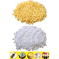 TooGet Pure Yellow Beeswax Pellets 7oz White Beeswax Pellets 7oz - 100% Natural, Cosmetic Grade, Premium Quality - 14oz