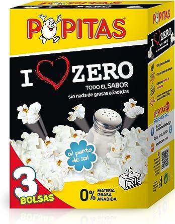 Popitas Zero - Palomitas Saladas para Microondas, Sin Gluten Ni ...